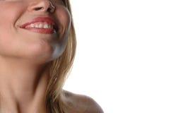 Donna parziale face-12 immagini stock libere da diritti