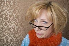 Donna pazzesca fotografia stock