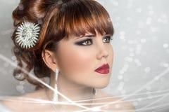 Donna perfetta Fotografia Stock