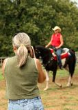Donna Photograher Immagini Stock Libere da Diritti