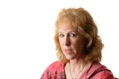 Donna più anziana attraente fotografie stock
