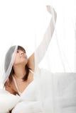 donna pigra della base Fotografia Stock Libera da Diritti