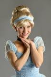 Donna in principessa Costume Fotografia Stock