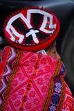 Donna quechua tradizionale Fotografie Stock Libere da Diritti