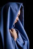Donna religiosa Fotografie Stock