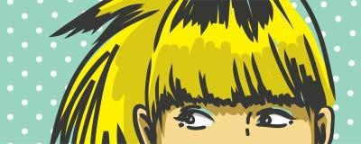 Donna retro Fotografia Stock