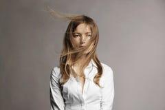 donna retrospettiva di rassegna s del ritratto di secolo di 20 bellezze xx Fotografie Stock
