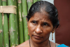 Donna rurale India Immagini Stock