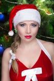 Donna Santa sexy Immagini Stock
