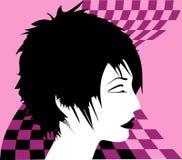 Donna, scacchi-Regina Immagine Stock