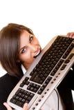 Donna selvaggia sexy divertente fotografie stock libere da diritti
