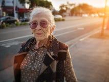 Donna senior Fotografia Stock
