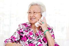 Donna senior asiatica Immagine Stock Libera da Diritti