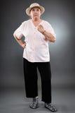 Donna senior caucasica Immagine Stock Libera da Diritti