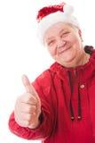Donna dell'anziano del ritratto Fotografie Stock