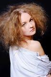 Donna sensuale Fotografia Stock