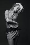 Donna sensuale Fotografie Stock