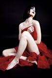 Donna sexy con trucco creativo Fotografia Stock Libera da Diritti