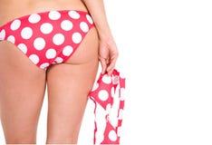 Donna sexy del bikini immagine stock libera da diritti