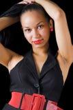 Donna sexy del latino Immagine Stock