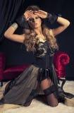 Donna sexy del Victorian Immagine Stock Libera da Diritti