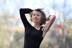 Donna sexy di Portret Fotografia Stock Libera da Diritti