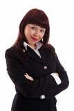 Donna sicura di affari Immagini Stock Libere da Diritti