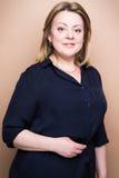 Donna sicura matura Fotografia Stock Libera da Diritti