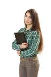 Donna sicura piacevole di affari Immagine Stock Libera da Diritti