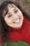 Donna sorridente Immagine Stock