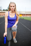 Donna sportiva Immagine Stock Libera da Diritti