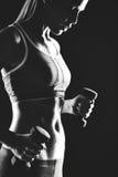 Donna sportiva Fotografia Stock Libera da Diritti