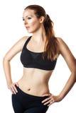 Donna sportiva sexy Fotografie Stock Libere da Diritti
