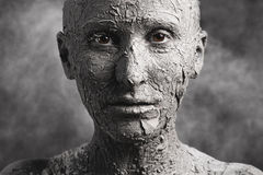 Donna statuaria Immagine Stock Libera da Diritti