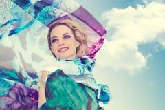 Donna Stunning Fotografia Stock Libera da Diritti