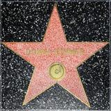 Donna Summers-ster op Hollywood-Gang van Bekendheid royalty-vrije stock foto