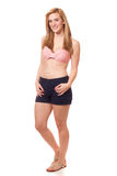 Donna in Swimwear Immagine Stock Libera da Diritti