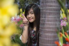 Donna tailandese Fotografia Stock Libera da Diritti