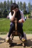 Donna tailandese Fotografie Stock