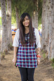 Donna tailandese Fotografia Stock