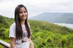 Donna tailandese Fotografie Stock Libere da Diritti