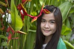 Donna tailandese Immagine Stock