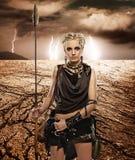 Donna tribale fotografia stock