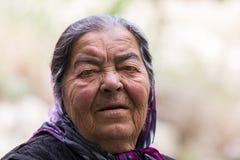 Donna turca senior fotografia stock libera da diritti