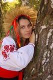 Donna ucraina Fotografia Stock Libera da Diritti