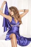 Donna in vestito da sera immagine stock libera da diritti
