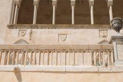 Donnafugata,西西里岛城堡  免版税图库摄影