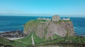 Donnatar城堡 库存图片