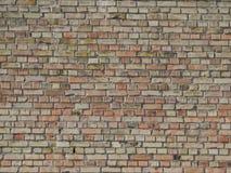 Donne à la brique une consistance rugueuse de façades Images libres de droits