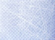 Donne à la glace une consistance rugueuse bleue Patinoire Vue supplémentaire Surface de nature D'isolement sur le fond transparen images libres de droits